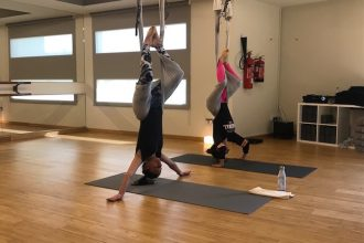 Antigravity Yoga at YogaOne Abu Dhabi