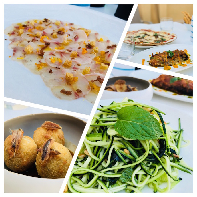 Lunch at LARTE restaurant Abu Dhabi