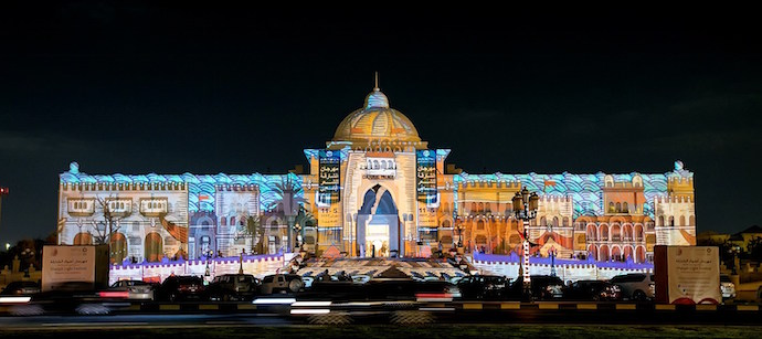 Sharjah Light Festival 2018