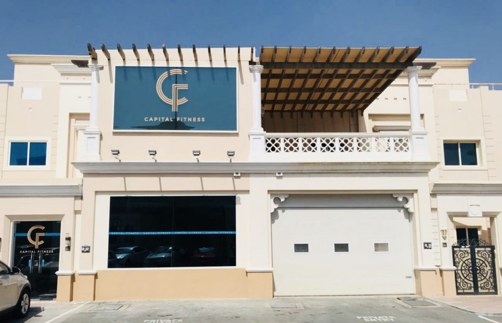 Capital Fitness Facade Abu Dhabi