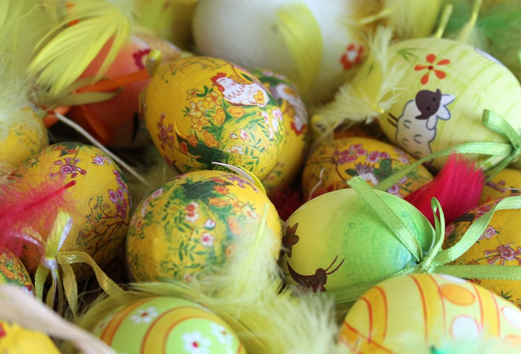 Easter eggs in Abu Dhabi