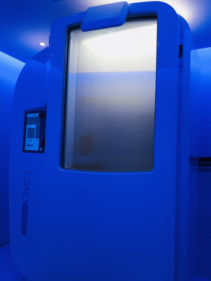 The CRYO Room in Abu Dhabi