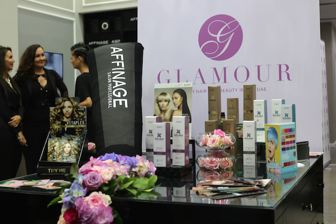 Affinage Launch in Abu Dhabi at Glamour Hair Salon