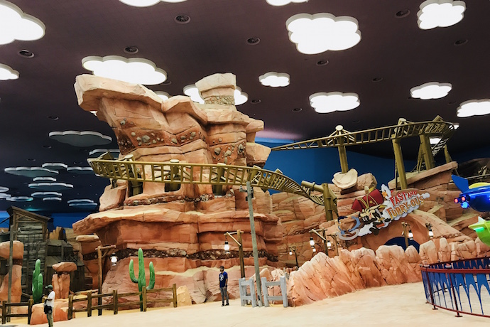 Dynamite Gulch Land at Warner Bros World Abu Dhabi