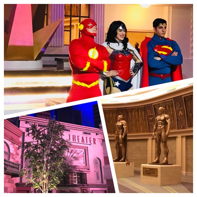 Metropolis Collage at Warner Bros World Abu Dhabi