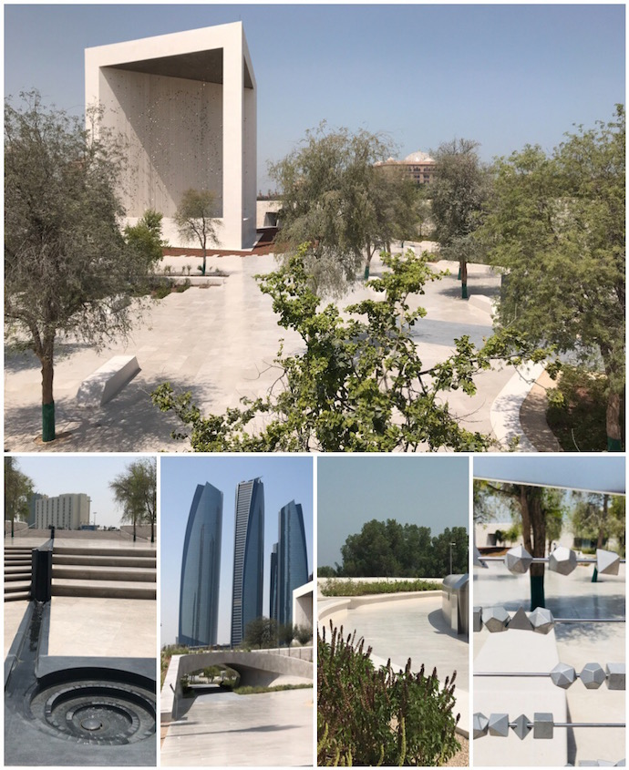 The Founder Memoral in Abu Dhabi