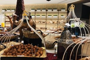 First Iftar at Sim Sim Restaurant Saadiyat Rotana resort and villas