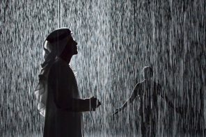 Rain Room in Sharjah