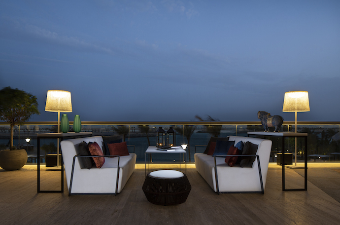 Pearl Terrace at Grand Hyatt Abu Dhabi