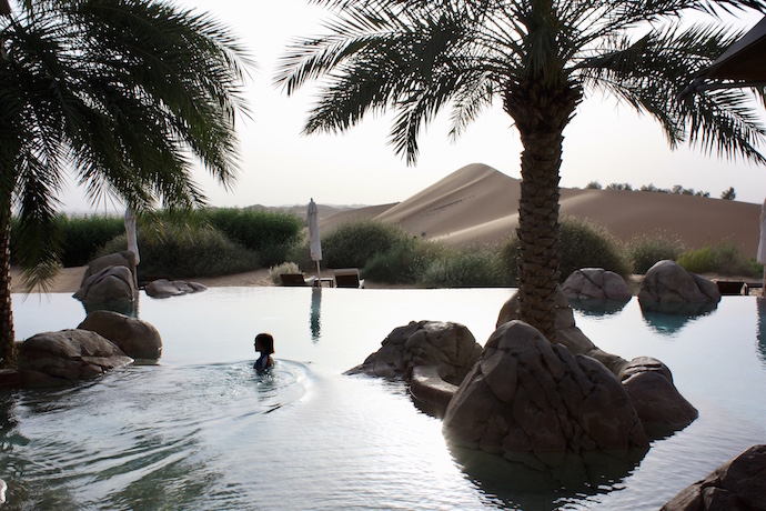 Telal Resort Pool in the UAE