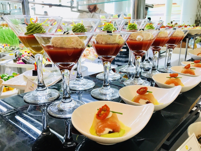 Brunch at Yas Viceroy 2018 Abu Dhabi Confidential