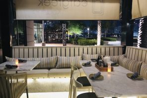 Eat Greek Kouzina Abu Dhabi The terrace