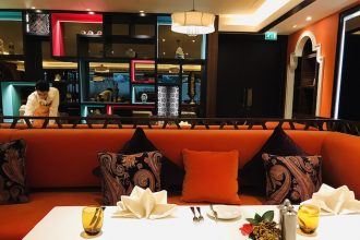 Inside Namak by Kunal Kapur Restaurant in Abu Dhabi
