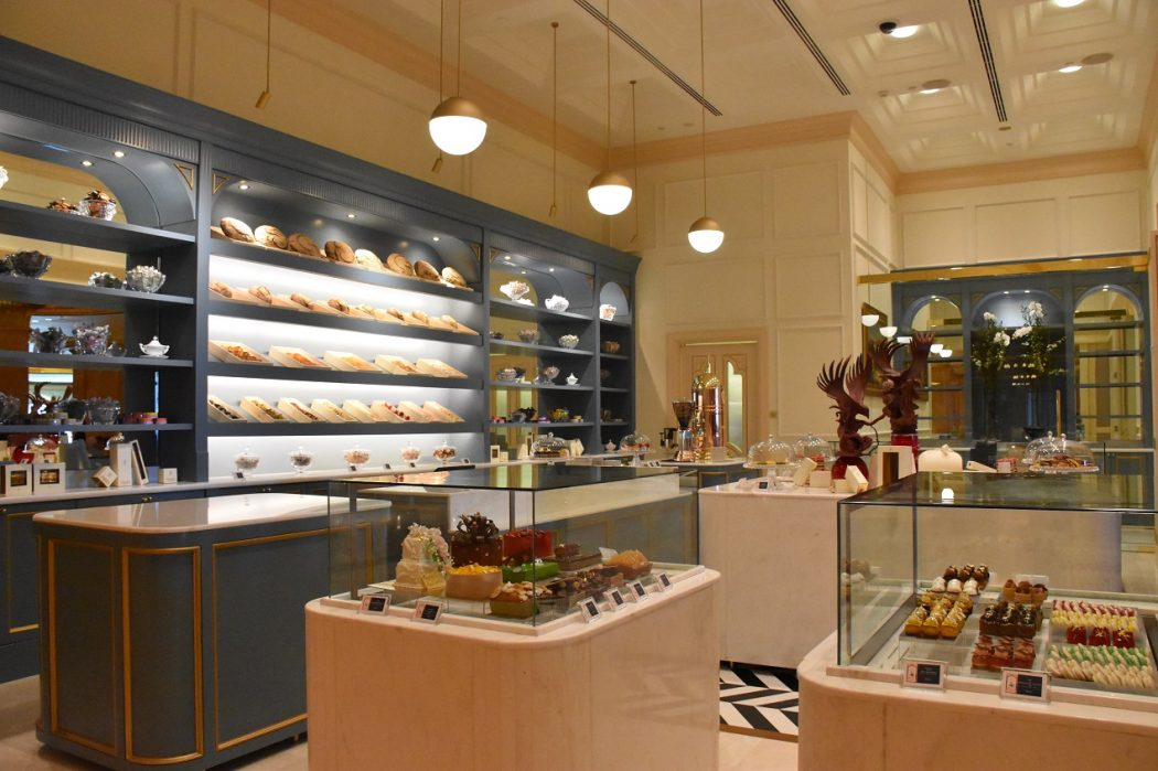 le cafe new retail pastry and bakery shop at emirates palace abu