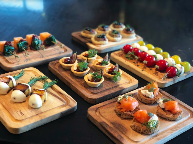 Festive Canapes by Jones The Grocer