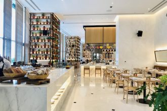 Market at Edition new healthy cafe restaurant in Abu Dhabi