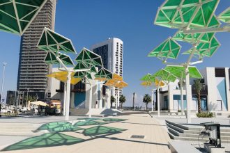 Al Reem Central Park a new urban park in Abu Dhabi