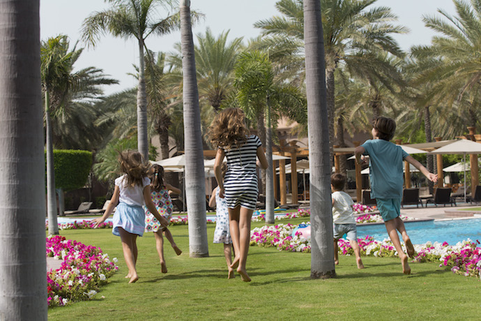 Emirates palace Winter camp in Abu Dhabi