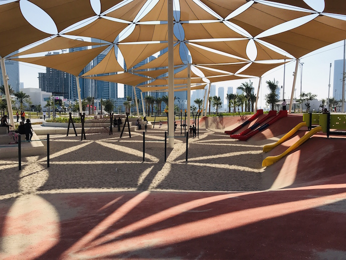Play Area at Reem Central Park