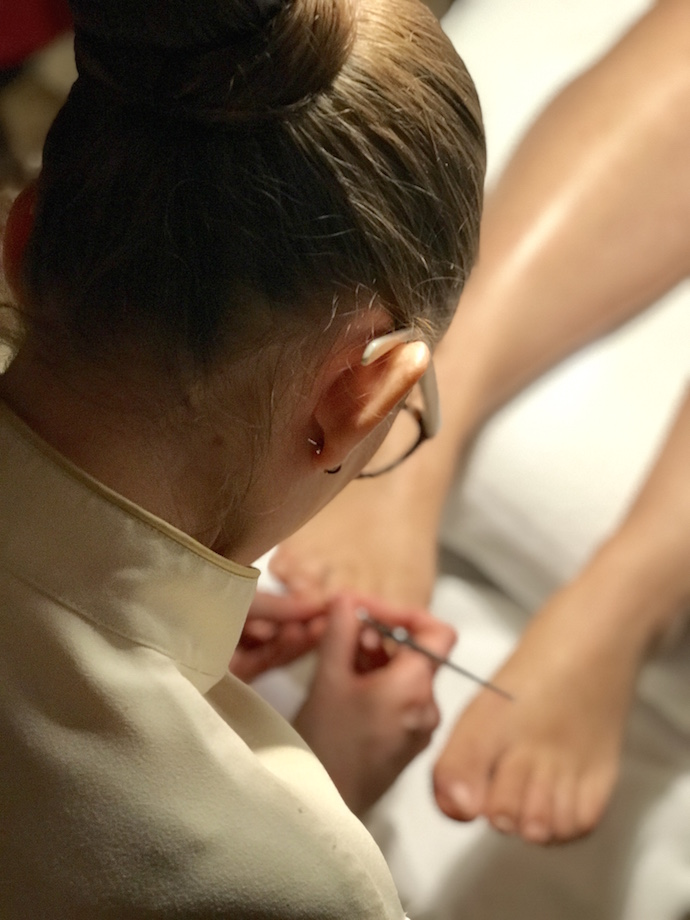 Duo Treatment mani Pedi Bastien Gonzales Emirates palace