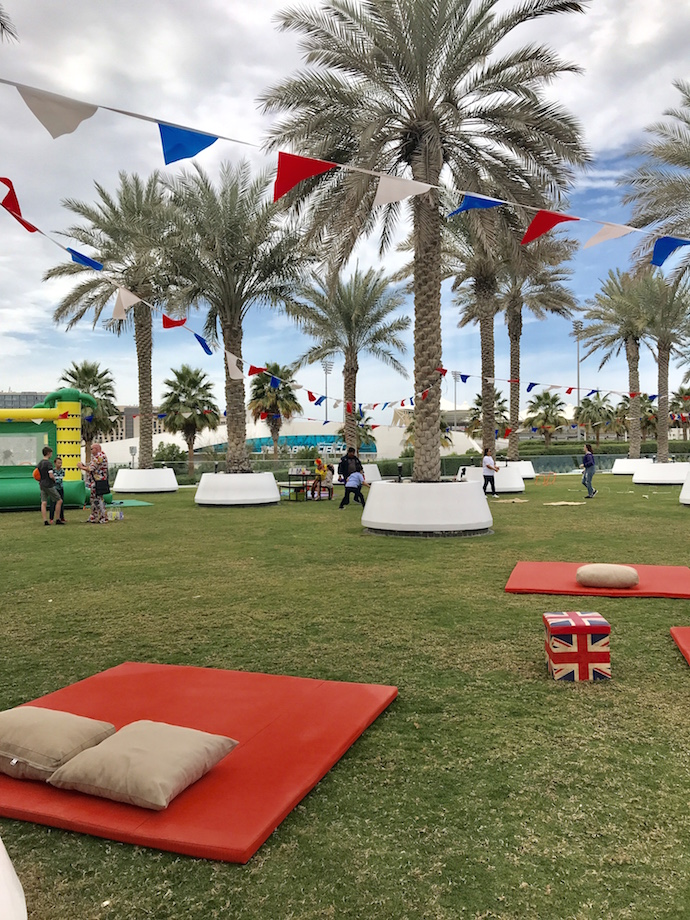 Kids Zone at The Best of Blighty Brunch at Yas Hotel