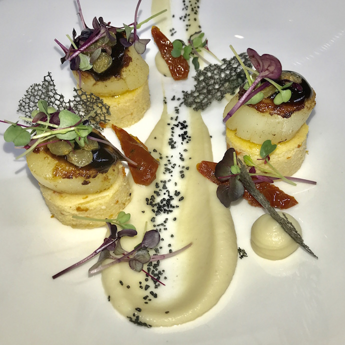Scallops at The Foundry