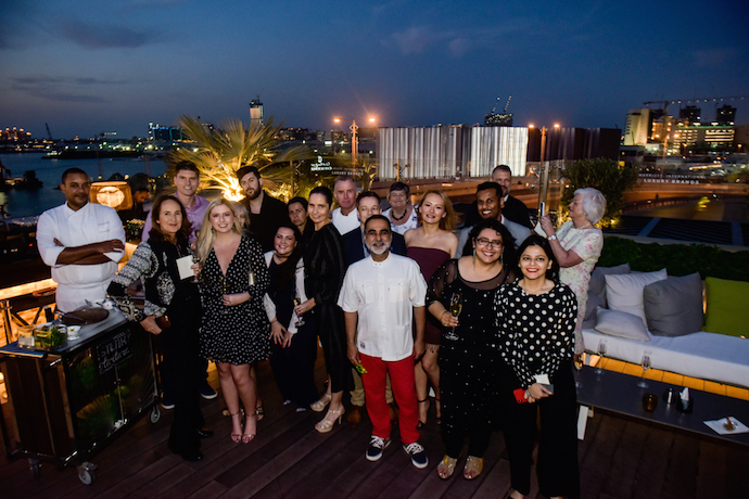 The team who joined The Epicurean Journey across the UAE