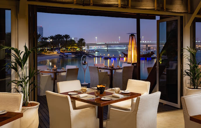 Easter 2019 Dinner at Finz Beach Rotana Abu Dhabi