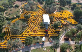 The Wonder Maze in Abu Dhabi