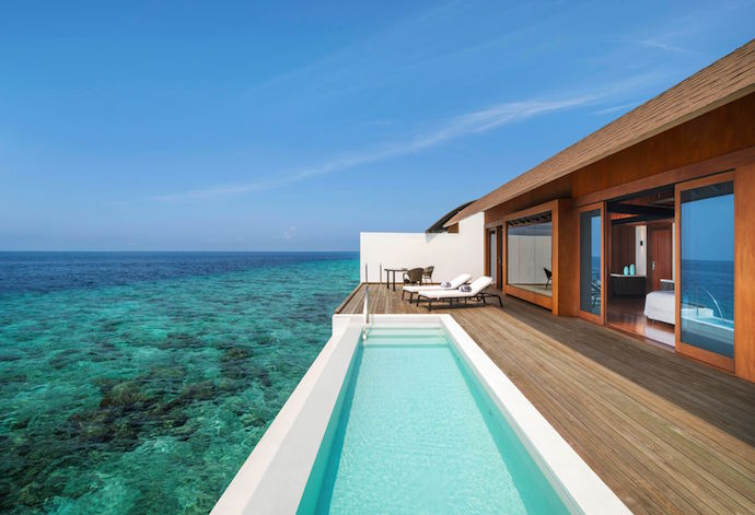 Westin Maldives - Overwater Suite Pool Deck
