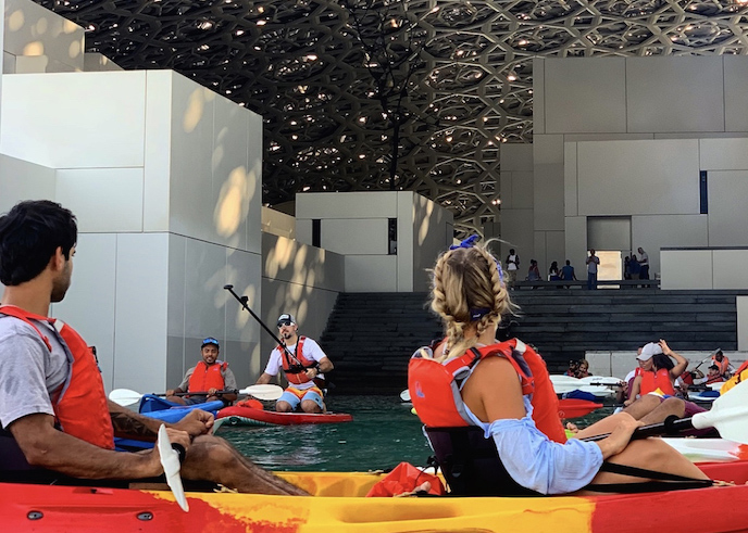 Kayaking at Louvre Abu Dhabi © Department of Culture and Tourism – Abu Dhabi copy