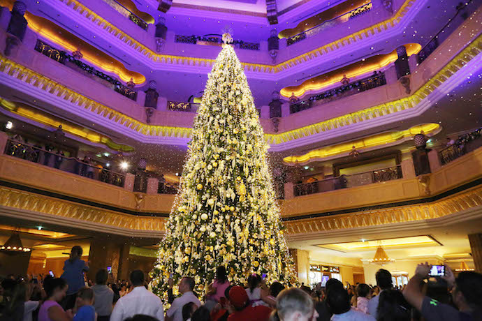 Tree Lighting 2019 in Abu Dhabi