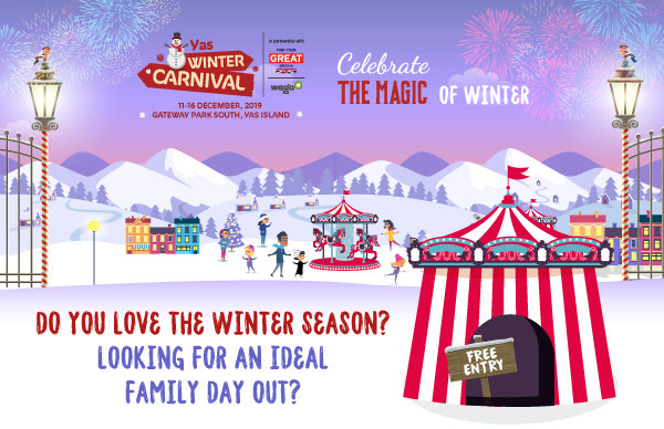 Yas Winter Carnival in Abu Dhabi
